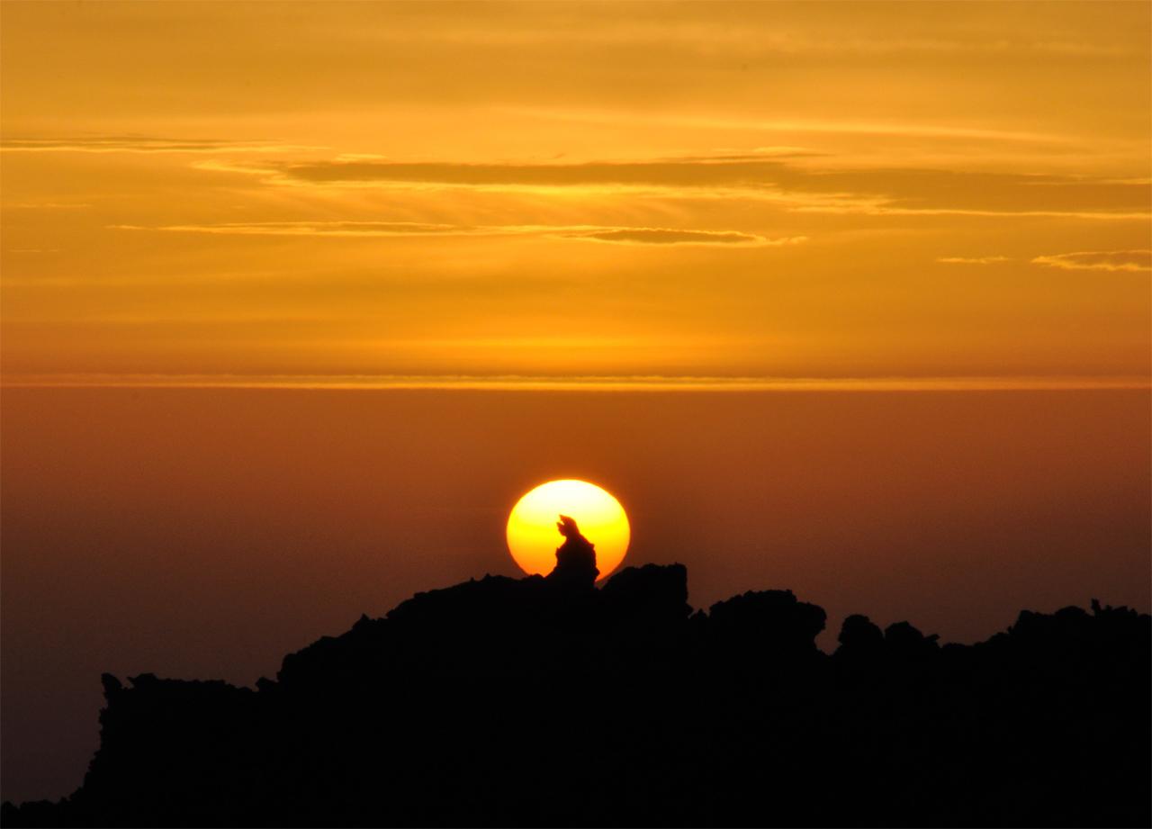 Etna al tramonto