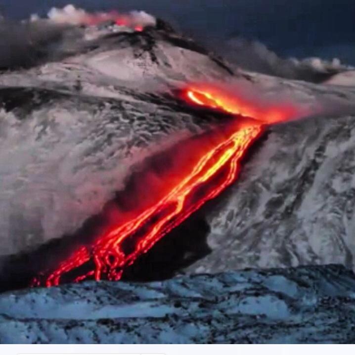 Eruzione Etna oggi