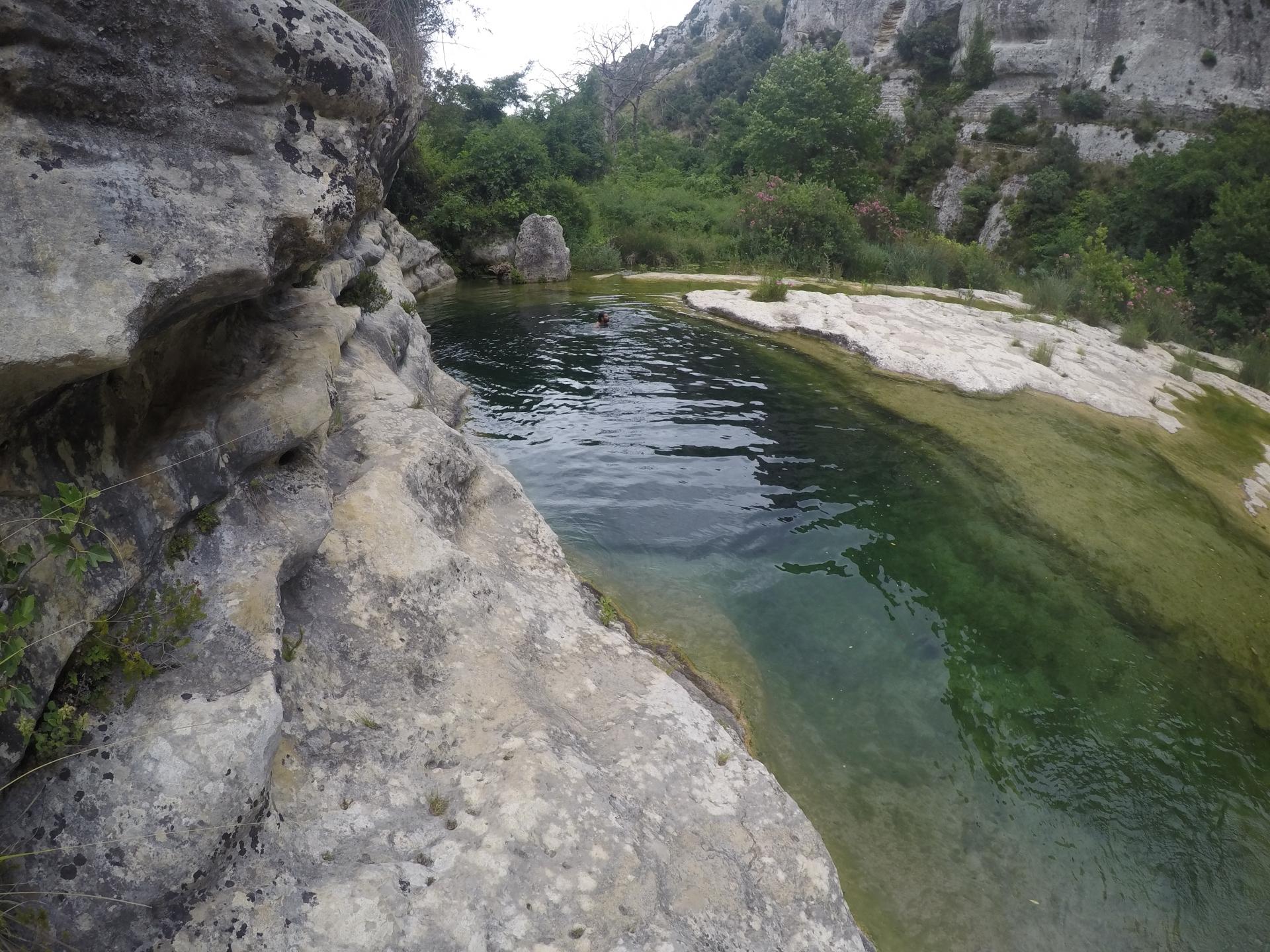 Trekking acquatico Cavagrande